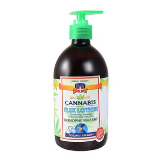 Cannabis Massage Gel with Pump Cooling 500ml